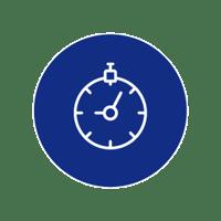 time icon (blue)