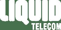 Liquid Telecom white logo
