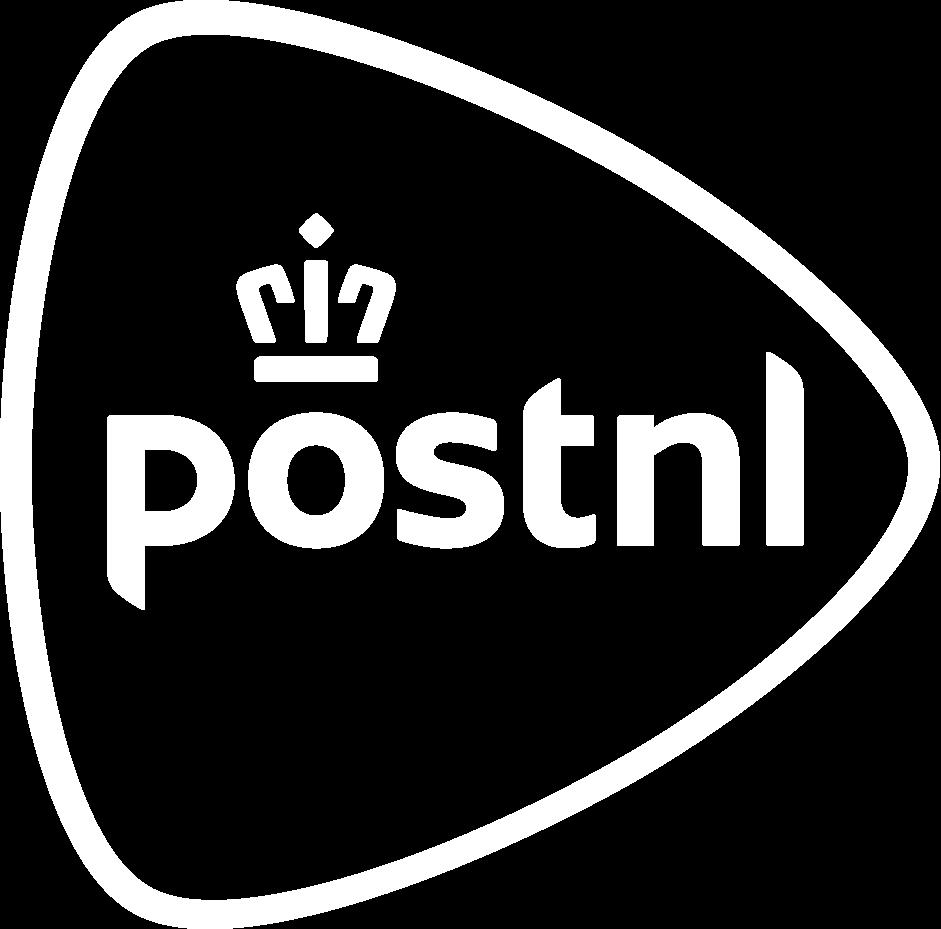 PostNL white logo